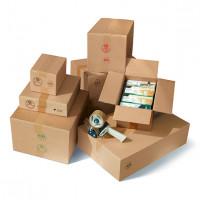1-wellig Kartons